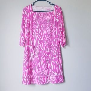 Lilly Pulitzer Cotton Fully Lined Sheath Dress